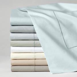 SFERRA Celeste Egyptian Cotton Percale Sheets