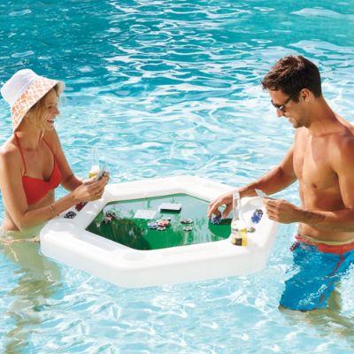 poker table pool float
