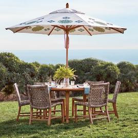 Isola Teak Dining Expandable Table
