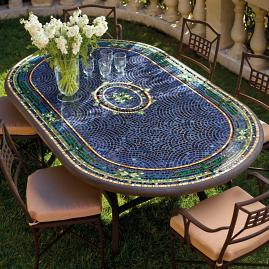 KNF - Neille Olson Mosaics Dining Collection