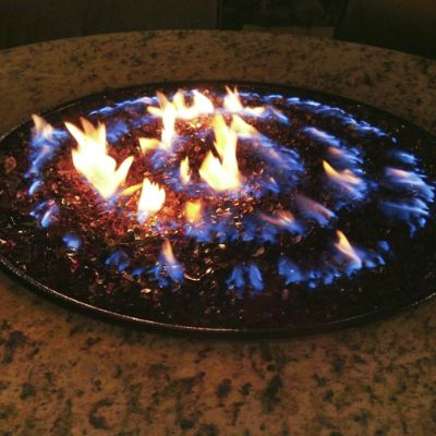 Oriflamme Fire Tables Frontgate