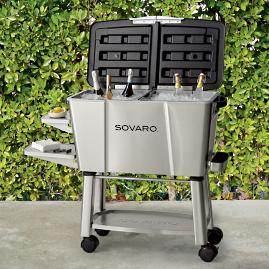 Sovaro Entertaining Cooler Station & Cover