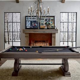 Barnstable Pool Table with Dining Top by Imperial