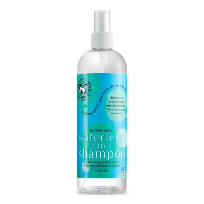 Planet Dog All Natural Waterless 2 In 1 Dog Shampoo