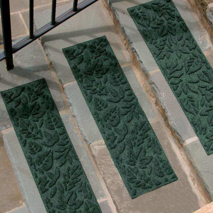 Set Of Four Water Amp Dirt Shield Fall Day Stair Treads