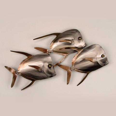 Lookdown Fish Wall Art | Frontgate