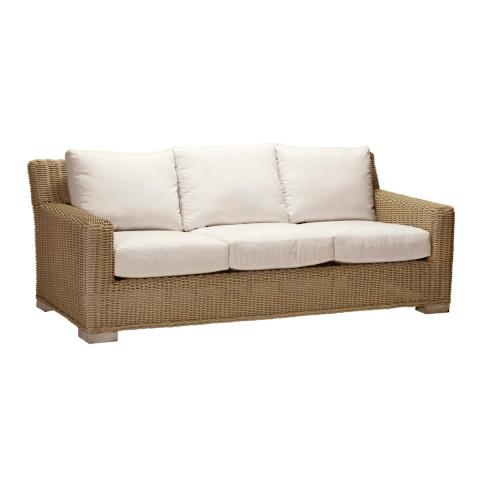 Merveilleux Rustic Sofa With Cushions By Summer Classics