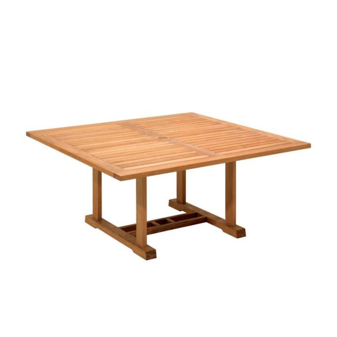Bristol Square Teak Dining Table By Gloster Frontgate