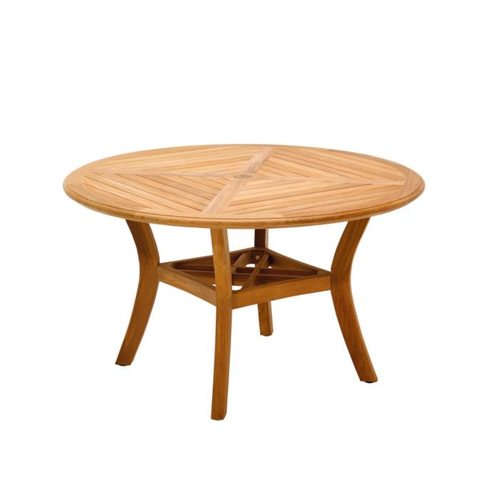 Halifax Round Teak Dining Table By Gloster Frontgate