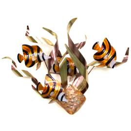 Banded Angel Fish Wall Art