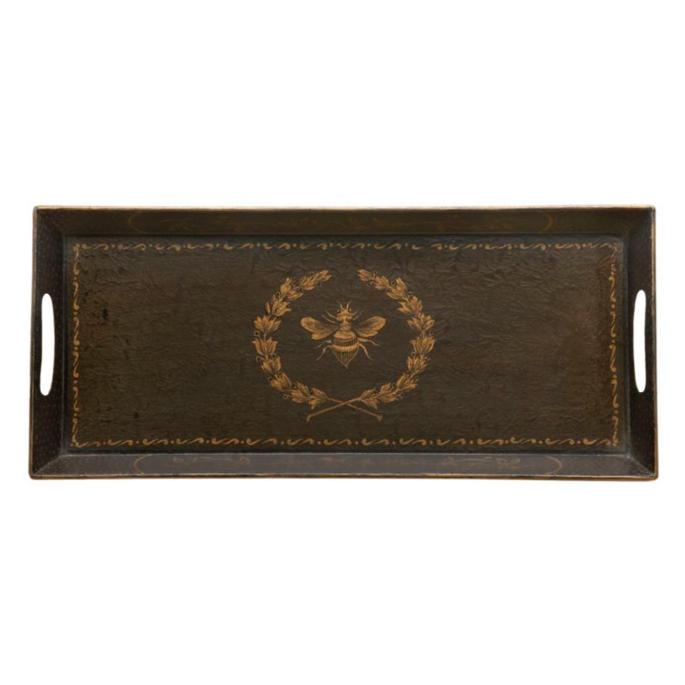 Versailles Rectangle Toleware Tray Frontgate