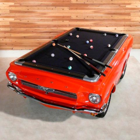 Mustang Car Pool Table Frontgate - Ballard pool table