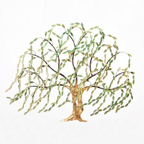 Springtime Willow Tree Wall Art | Frontgate