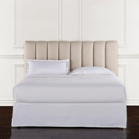 Lyell Channel Quilt Upholstered Bed | Frontgate