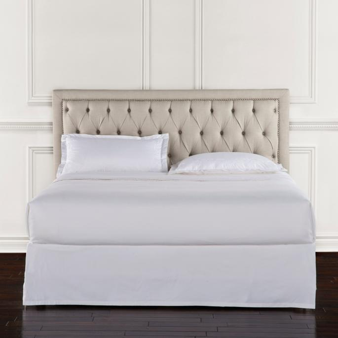 Lyell Tufted Low King Headboard Frontgate
