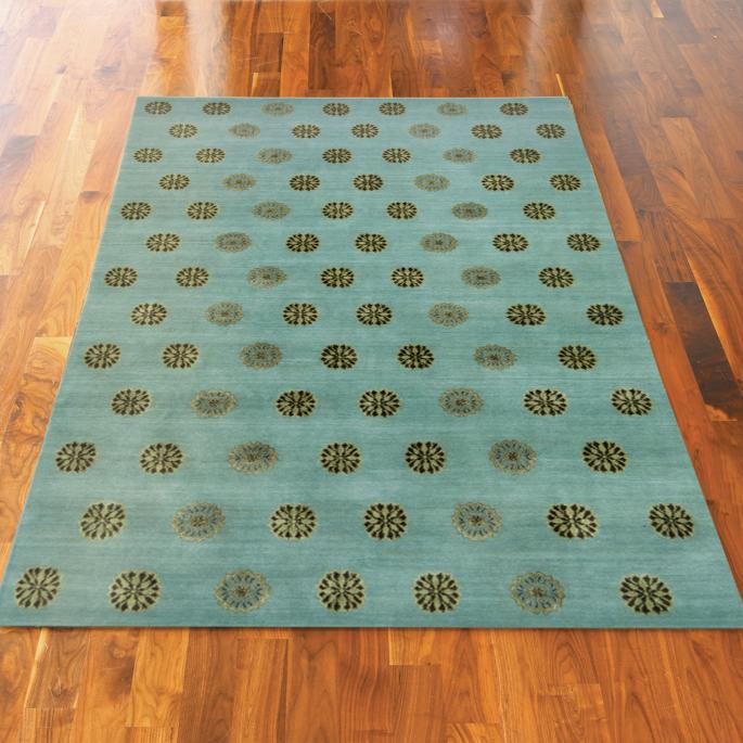 Thomas O'Brien Ocean Hand Knotted Area Rug
