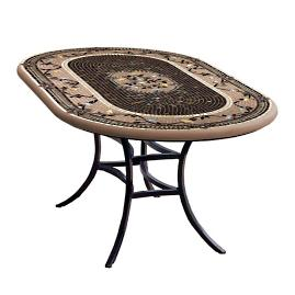 KNF Provence Oval Bistro Table