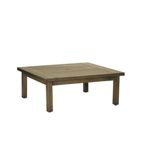 Club Square Coffee Table In Oyster By Summer Classics Frontgate - Oyster coffee table
