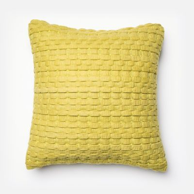 Felted Basketweave Throw Pillow Frontgate