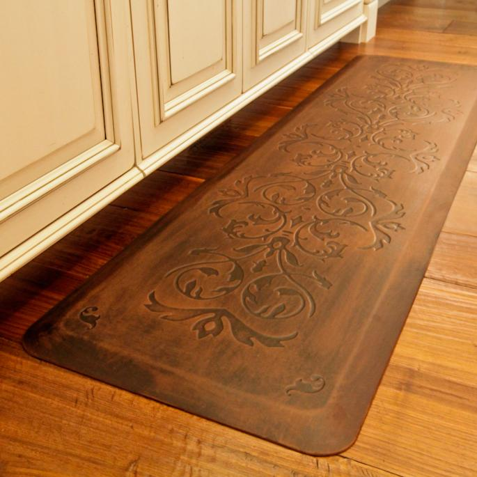 Kitchen Rugs And Mats: Classic Scroll Anti-fatigue Kitchen Comfort Mat