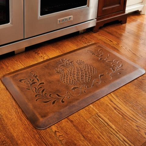 Pineapple Anti-fatigue Kitchen Comfort Mat | Frontgate