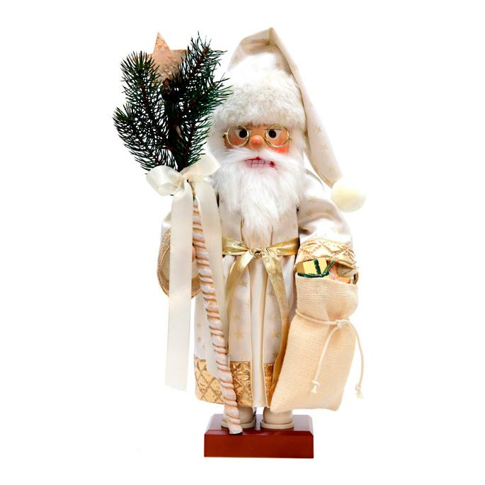 Christian Ulbricht Santa With Gold Gifts Nutcracker Frontgate