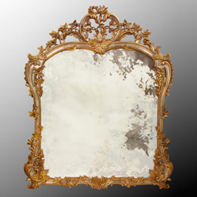 Louis Phillipe Hand Carved Mirror Frontgate