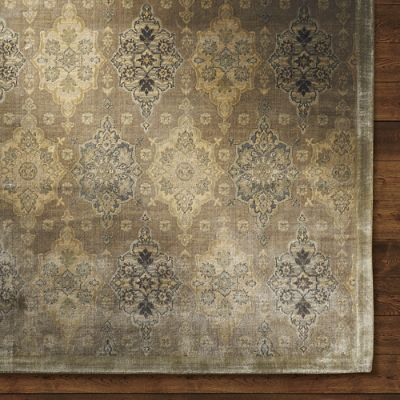 Gold Amun Area Rug Frontgate