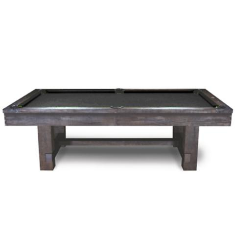 Reno Rustic Antique Walnut Pool Table By Imperial Frontgate - Ballard pool table