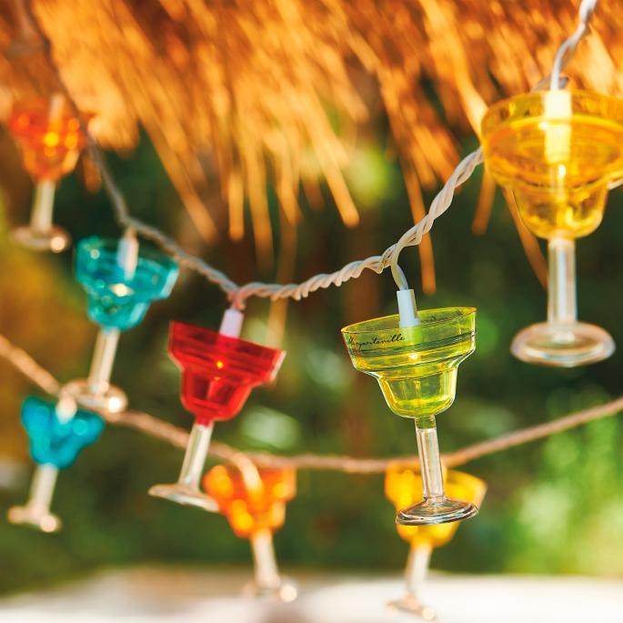 Outdoor String Lights Around Pool: Margaritaville String Lights