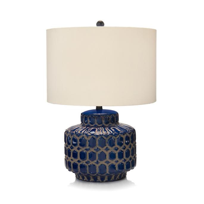 Indigo Blue Table Lamp | Frontgate