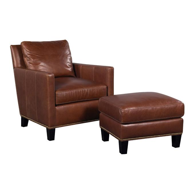 Parker Leather Chair Frontgate