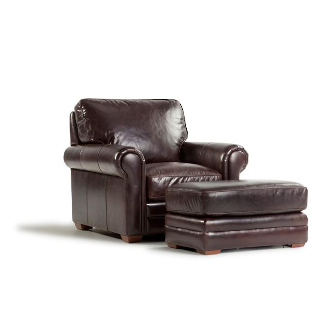 Portland Leather Chair | Frontgate