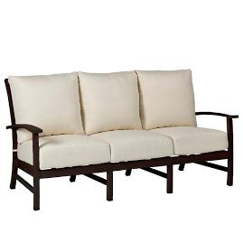 Charleston Sofa with Cushions by Summer Classics