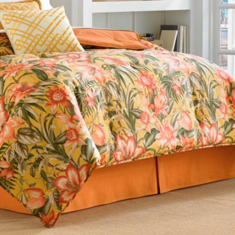Tommy bahama tropical lily bedding collection frontgate tommy bahama tropical lily duvet set gumiabroncs Image collections