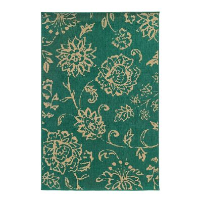 Tommy Bahama Seaside Floral Outdoor Rug Frontgate