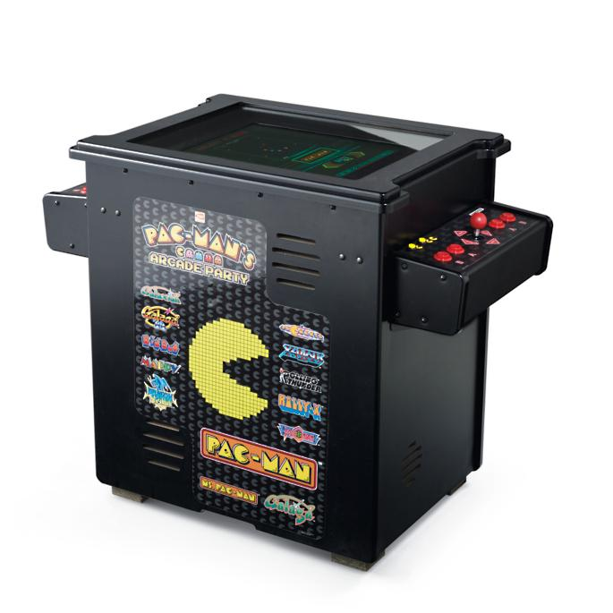 Pacman Table Game >> Pac Man 13 Game Arcade Cocktail Table Frontgate