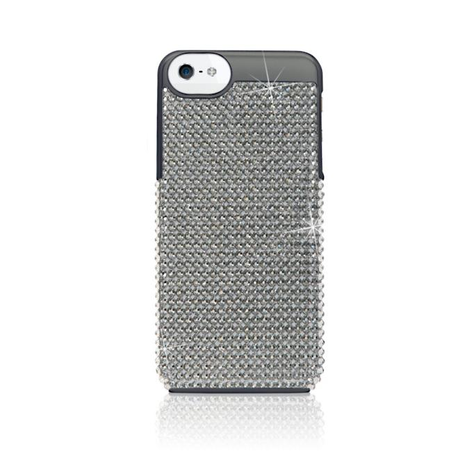 e9fcfe2e90a0 iWave Crystal iPhone 5 5S 6 Case with Black Diamond Swarovski Elements®