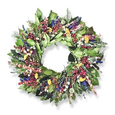 New Wildberries Dried Wreath Frontgate