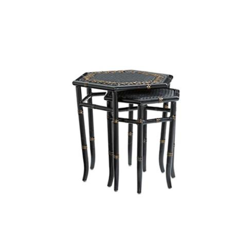 Marimba Wicker Set Of Two Nesting Tables By Tommy Bahama