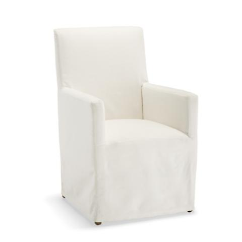 Emerson Dining Arm Chair Slipcover