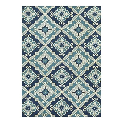Sea Glass Outdoor Rug Frontgate