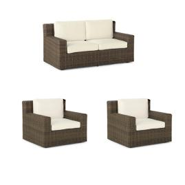 Hyde Park 3-pc. Loveseat Set Cover