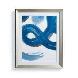 Brushstroke Wall Art I