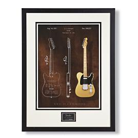 1951 Fender Telecaster Limited Edition Blueprint