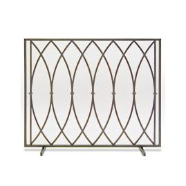 Addison Single Panel Fireplace Screen