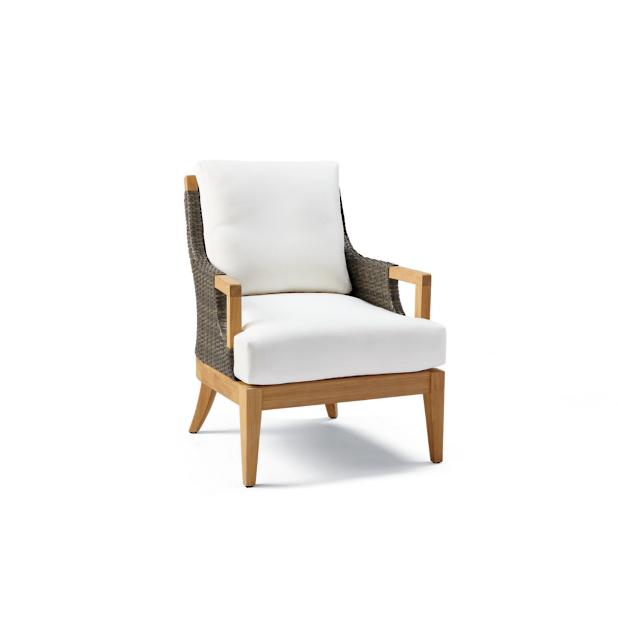 Outstanding Roseau Dining Arm Chair Cover Frontgate Machost Co Dining Chair Design Ideas Machostcouk