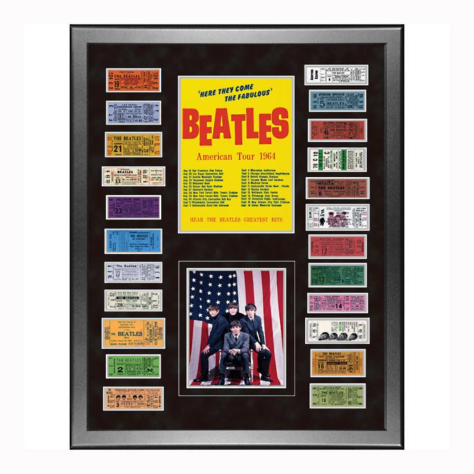 - The Beatles American Tour Framed 1964 Ticket Collage Frontgate