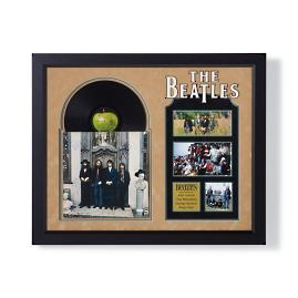 Autographed Beatles Hey Jude Album Cover