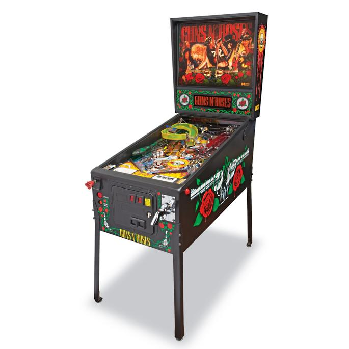 One-of-a-Kind Autographed Guns N' Roses Pinball Machine